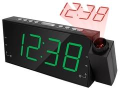 Часы с радио Texet TRC-311 black