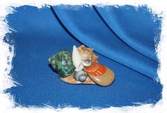 Сувенир из морских ракушек. Купить