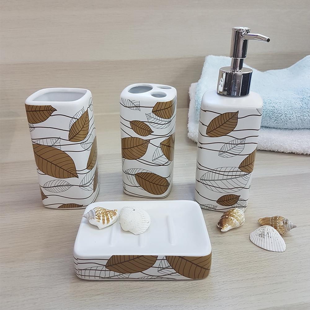 Ванный набор,керамика, белый.