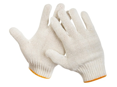 STAYER STANDARD, размер L-XL, перчатки трикотажные для тяжелых работ без покрытия, 11402-XL