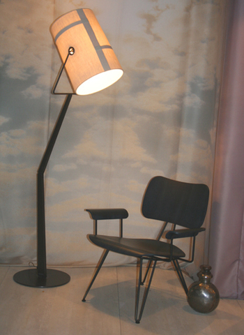 replica  Diesel Fork Floor  lamp ( marrone + grey )