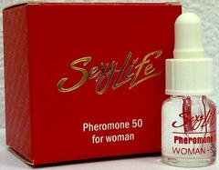 """Духи концентрированные """"Sexy Life"""" с феромонами женские """"Pheromone"""" 50% koncf50-sl"""