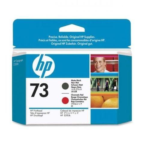 Печатающая головка №73 для HP DesignJet Z3200 матовый черный и хроматический красный (CD949A)