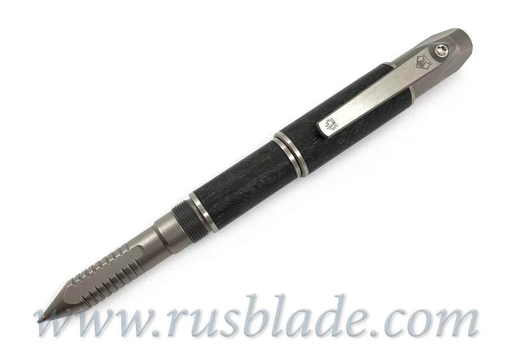 Shirogorov Pen Screwdriver Custom Division Marbled CF