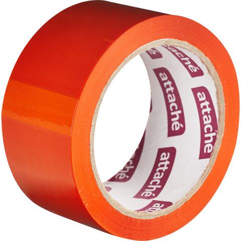 Клейкая лента упаковочная ATTACHE 48мм х 66м 45мкм оранжевый