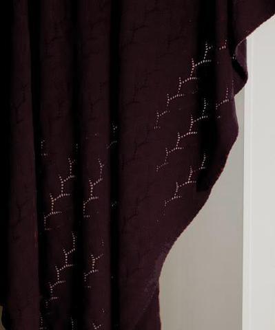 Элитный плед -покрывало Imperio 140 вишневый от Luxberry