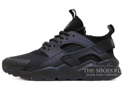 Кроссовки Женские Nike Air Huarache Run Ultra Noir Black