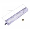 Магниевый анод для водонагревателя Ariston (Аристон) - 65150069, 919004 - 25,5x135,5мм M5 с переходником на M8