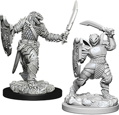 D&D Nolzur's Marvelous Miniatures - Dragonborn Female Paladin