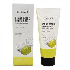 Lebelage Lemon Detox Peeling Gel - Отшелушивающий гель с экстрактом лимона