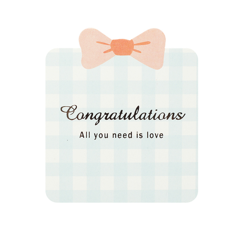 Открытка Congratulation