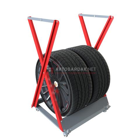 Напольная стойка для хранения 2 колес