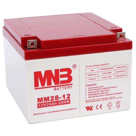 Аккумуляторы MNB MM 28-12 - фото 1
