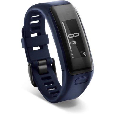 Купить Фитнес-браслет Garmin Vivosmart HR Синий 010-01955-14 по доступной цене