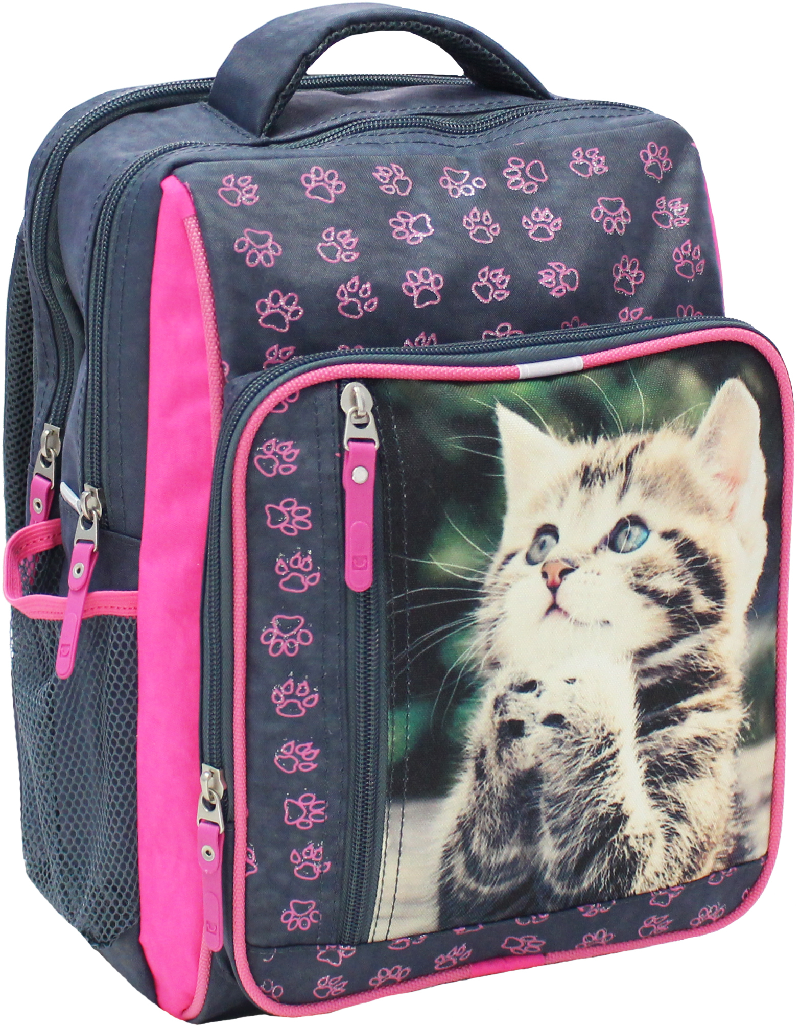 Школьные рюкзаки Рюкзак школьный Bagland Школьник 8 л. 321 сірий 21 д (00112702) IMG_5245.JPG