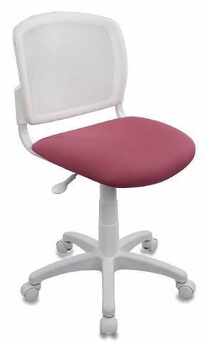 спинка сетка белый TW-15 сиденье розовый 26-31