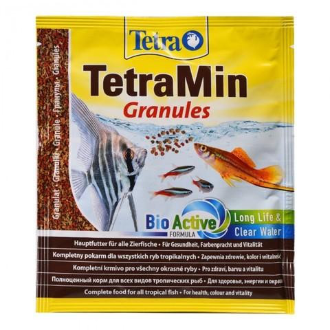 TetraMin Granules корм для всех видов рыб в гранулах 15 г