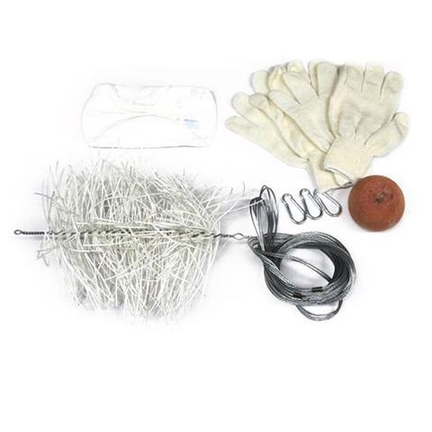 Комплект для чистки дымохода КЧД d150мм