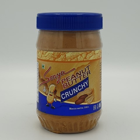 Арахисовая паста Хрустящая SONYA, 510 гр