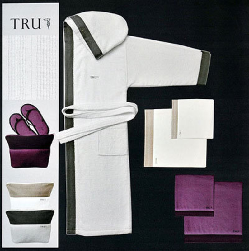 Набор полотенец 2 шт Trussardi Eclips серый