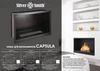 комплект ниша и топливная кассета биокамин Capsula Lux 3