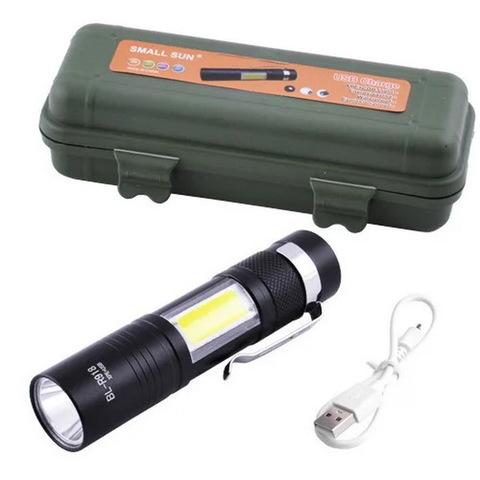 Ф.ручной Police K918-XPE+COB, zoom, встроенный аккум., ЗУ USB