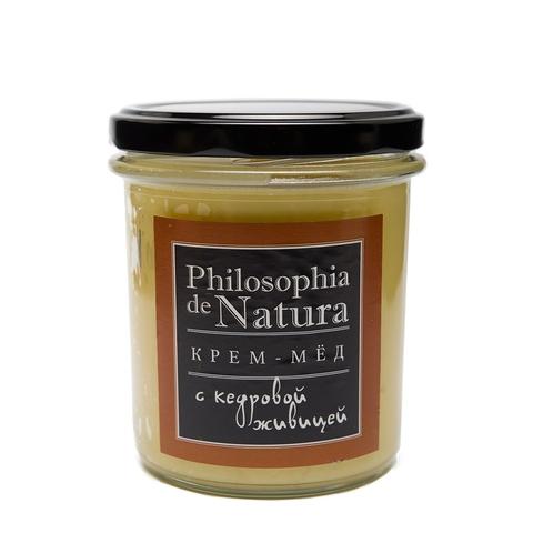 Крем-мед Philosofia de Natura с кедровой живицей, 180 мл