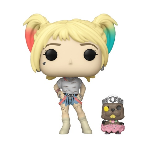 Фигурка Funko POP! Vinyl: DC: Birds of Prey: Harley Quinn w/Beaver 44378