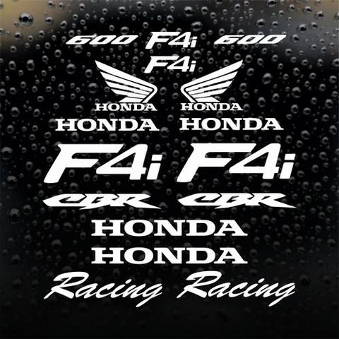 Набор виниловых наклеек на мотоцикл Honda