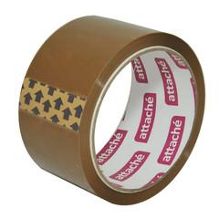 Клейкая лента упаковочная ATTACHE 50мм x 50м 40мкм коричневая
