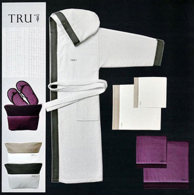 Набор полотенец 2 шт Trussardi Eclips фиолетовый