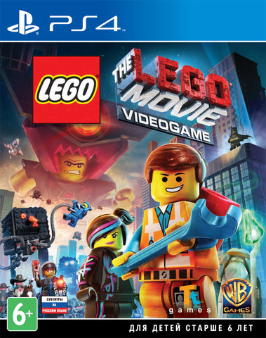 Sony PS4 LEGO Movie Videogame (русские субтитры)