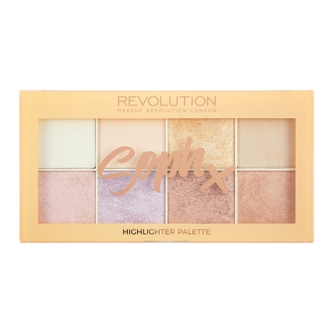 Палетка хайлайтеров Makeup Revolution Highlighter Soph Highlighter Palette