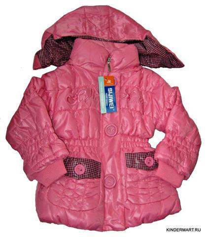 Стеганая куртка детская Hello