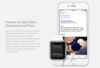 Купить Часы Apple Watch 38мм (чёрный полимерный ремешок) по доступной цене