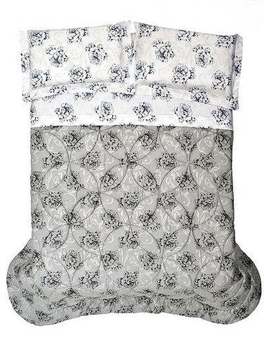 Постельное белье семейное Cassera Casa Tarambel серое