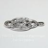 """Подвеска """"Кельтский узел"""" 21х18 мм (цвет - античное серебро)"""