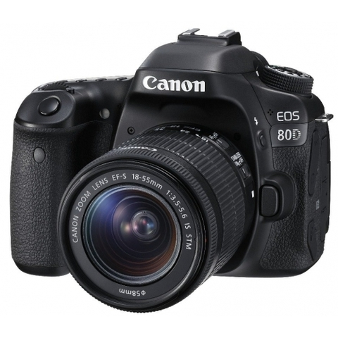 Canon EOS 80D kit EF-S 18-55mm f/3.5-5.6 IS STM