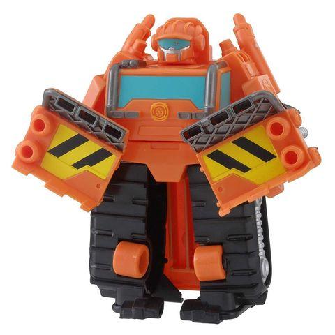 Робот - трансформер Playskool Салваж (Salvage) Бетономешалка - Боты спасатели (Rescue Bots), Hasbro