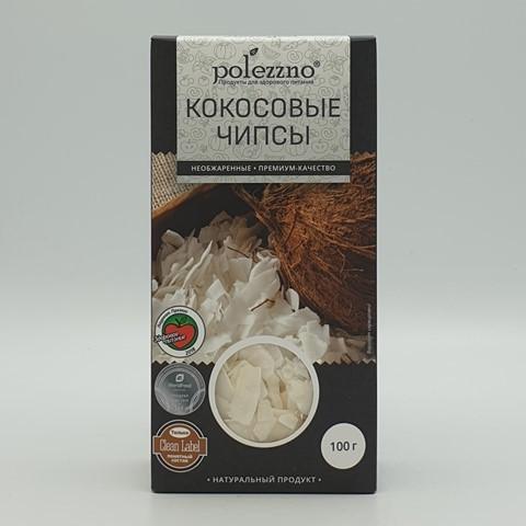 Кокосовые чипсы POLEZZNO, 100 гр