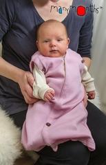 Спальный мешок для новорожденных,  0-3/4 мес (44-56/62 см), Нежно-розовый