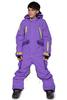 Детский утепленный комбинезон Cool Zone Teens фиолетовый