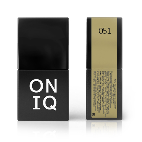 Гель-лак ONIQ -051 Spicy Mustard, 10 мл