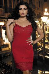 Сорочка женская с кружевом  MIA-MIA Elegance ЭЛЕГАНС Леди в красном 12024