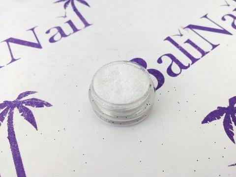TNL Меланж-сахарок для дизайна ногтей №11 белый