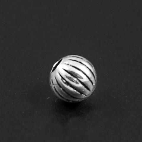 Бусина Колорадос 6 мм серебро 925