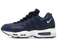 Кроссовки Мужские Nike Air Max 95 Leather Blue White