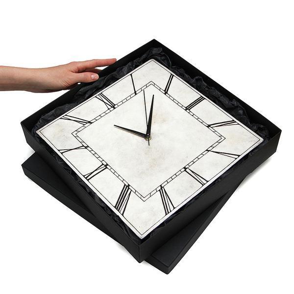 Часы настенные квадратные CLASSIC SQUARE VINTAGE