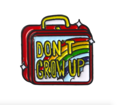 Пин «Don't Grow Up»