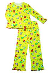 Пижама 036к Желтая
